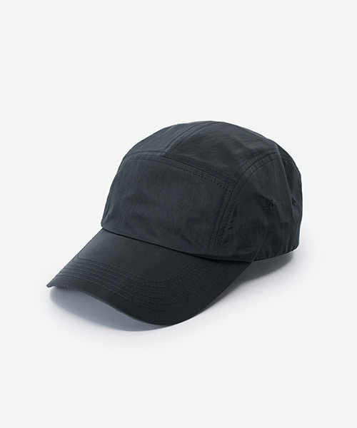 Big Sized Camp Cap Metal Nylon Black
