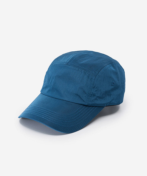Big Sized Camp Cap Metal Nylon Blue